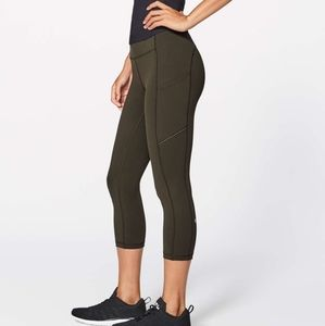 Lululemon Speed Up crop tight with pockets